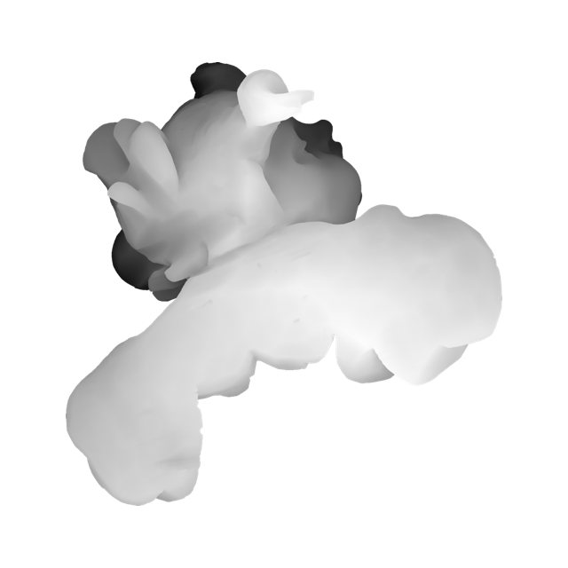 Крилата голівка з пасмом над чолом