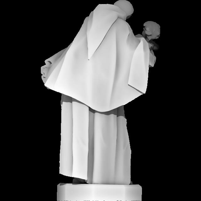 Święty Feliks z Cantalice z Dzieciątkiem Jezus <br/> (Święty Antoni Padewski)