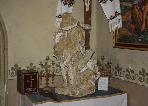 Пінзель, Св. Онуфрій (вапняк)