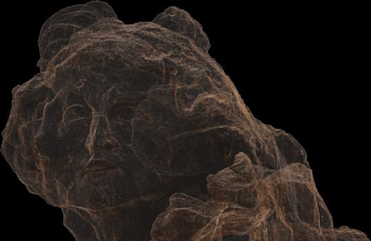 Head of sculpture
