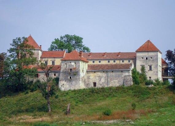 Свірж, замок (актуальний стан)