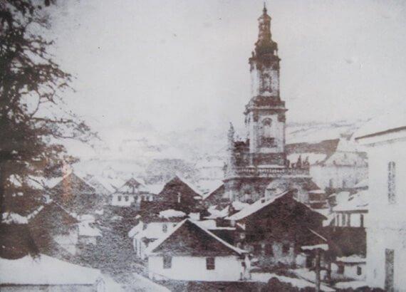Панорама середмістя Бучача