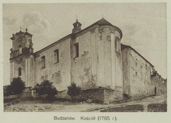 Буданів, парафіяльний костел