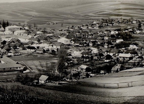 Нараїв, панорама середмістя. Фото початку ХХ ст