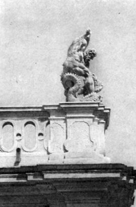 Пінзель, Геракл та Лернейська гідра (вапняк)