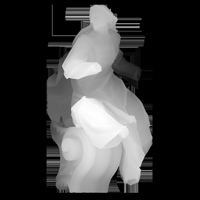 Алегорична скульптура 1 (пророчиця Міріам)